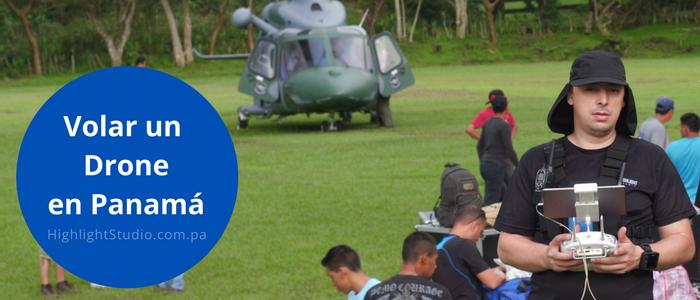 Volar Drone en Panamá - Highlight Studio