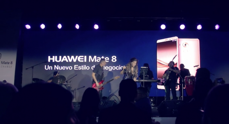Lanzamiento Huawei Mate 8